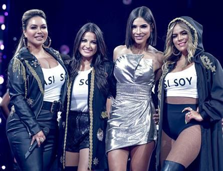 Karol G, Chiquis Rivera y Maite Perroni celebran el 'girl power' en NBL